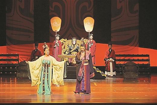 南国早报:音乐剧《绿珠》南宁亮相 演绎千古美人传说